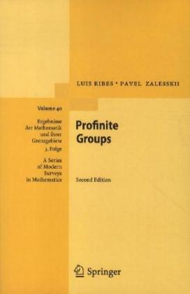 Profinite Groups:   2012 edition cover