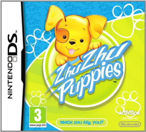 Zhu Zhu Pets: Puppies - Game Only (Nintendo DS) by ACTIVISION Nintendo DS artwork