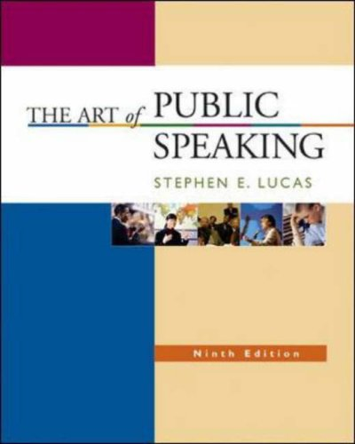 Art of Public Speaking with Learning Tools Suite (Student CD-ROMs 5. 0, Audio Abridgement CD set, PowerWeb, and Topic Finder)  9th 2007 (Revised) edition cover
