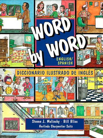 Word by Word Picture Dictionary English/Spanish Edition  1995 9780131258655 Front Cover