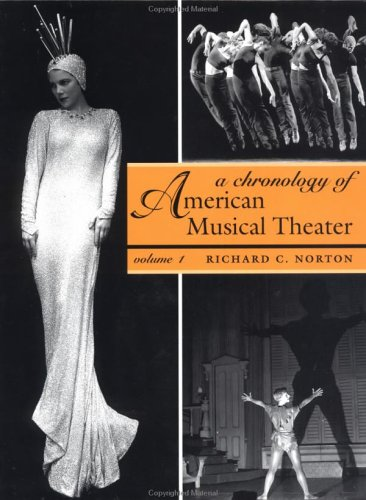 Chronology of American Musical Theater  2002 edition cover