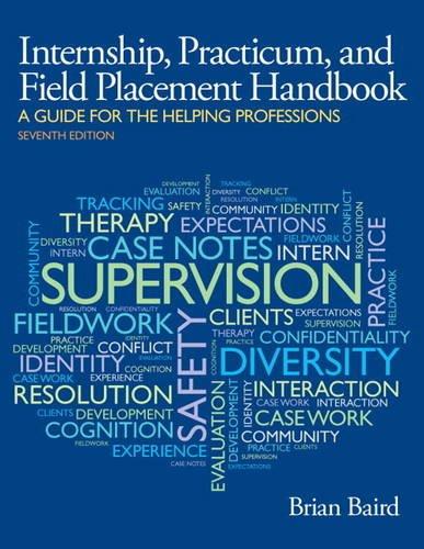Internship, Practicum, and Field Placement Handbook:   2013 edition cover