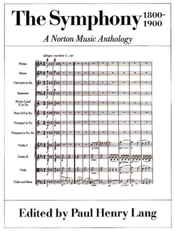 Symphony, 1800-1900  N/A edition cover
