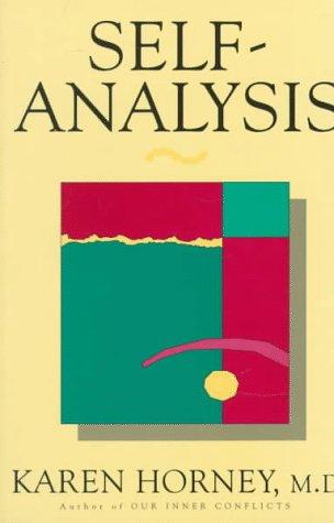 Self-Analysis   1994 (Reprint) edition cover