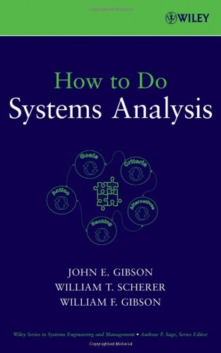 How to Do Systems Analysis   2007 edition cover