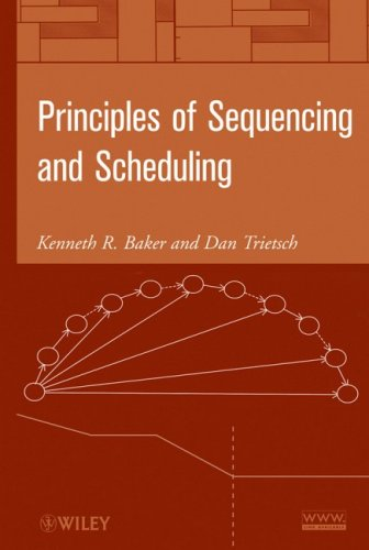 Principles of Sequencing and Scheduling   2009 edition cover