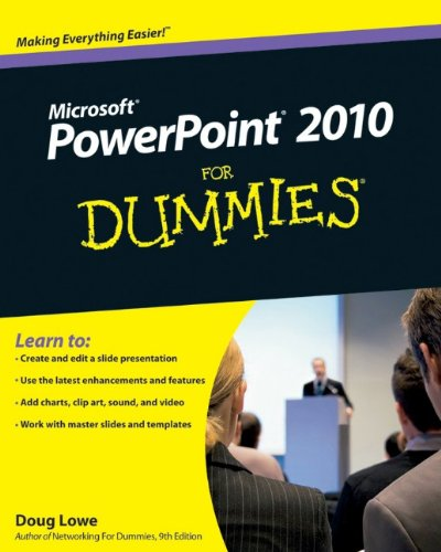 PowerPoint 2010 for Dummies�   2010 edition cover