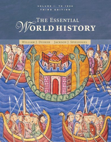 Essential World History, to 1800  3rd 2007 (Revised) 9780495097655 Front Cover