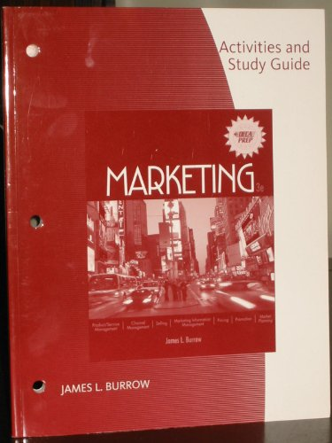 Marketing  3rd 2009 (Student Manual, Study Guide, etc.) 9780538446655 Front Cover