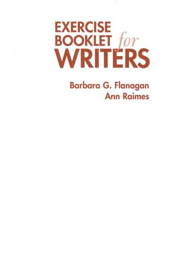 Exercise Booklet for Writers  5th 2008 edition cover