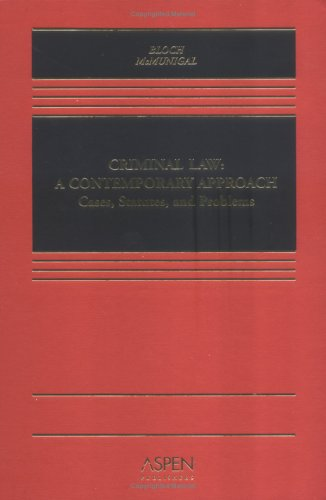 Criminal Law A Contemporary Approach  2005 edition cover