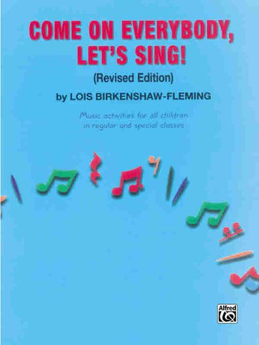 Come on Everybody, Let's Sing!   2000 (Revised) edition cover
