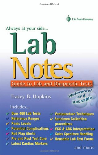 Lab Notes Guide to Lab and Diagnostic Tests  2005 edition cover