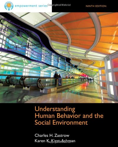 Understanding Human Behavior and the Social Environment  9th 2013 edition cover