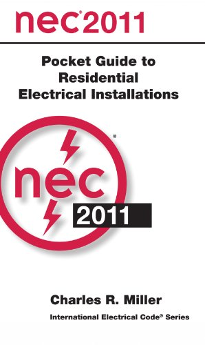 National Electrical Code 2011 Pocket Guide for Residential Electrical Installations   2011 9780877659655 Front Cover