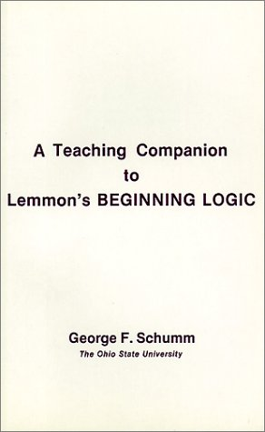 Companion to Lemmon's Beginning Logic   1991 edition cover