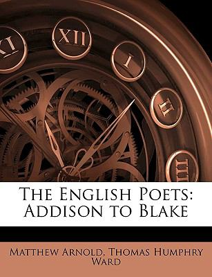 English Poets Addison to Blake N/A edition cover