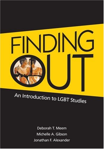 Finding Out An Introduction to LGBT Studies 2nd 2010 edition cover