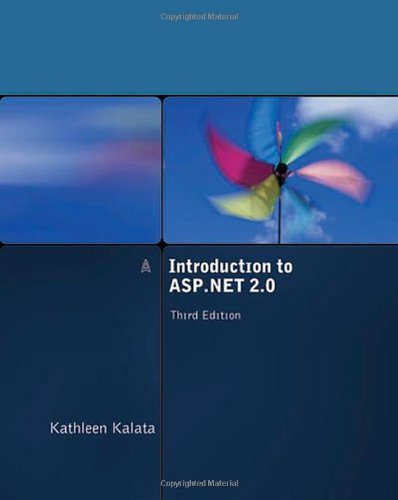 Introduction to ASP. NET 2. 0  3rd 2008 (Revised) edition cover