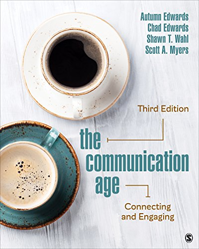 Communication Age Connecting and Engaging 3rd 2020 9781506369655 Front Cover