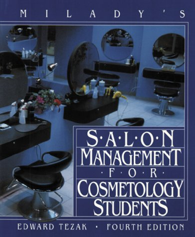 Salon Management for Cosmetology Students  4th edition cover