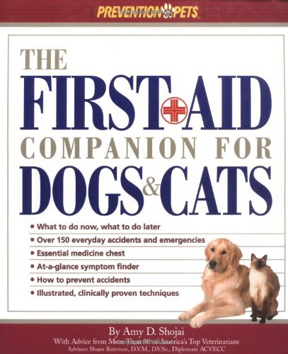 First Aid Companion for Dogs and Cats   2001 (Revised) edition cover