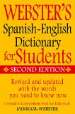 Webster's Spanish-English Dictionary for Students, Second Edition  N/A 9781596951655 Front Cover