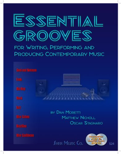 Essential Grooves for Writing, Performing and Producing Contemporary Music For Writing, Performing, and Producing Contemporary Music  2010 edition cover