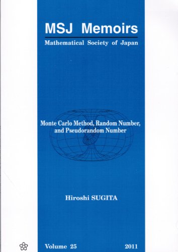 Monte Carlo Method, Random Number, and Pseudorandom Number:  2011 edition cover