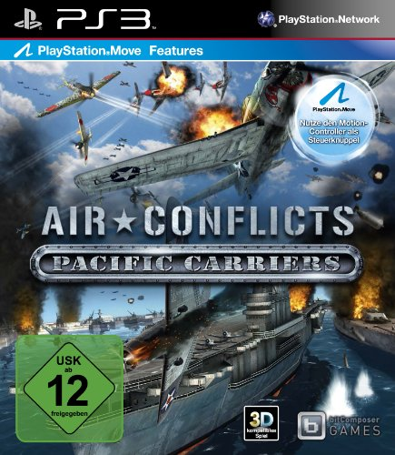 Air Conflicts: Pacific Carriers PlayStation 3 artwork