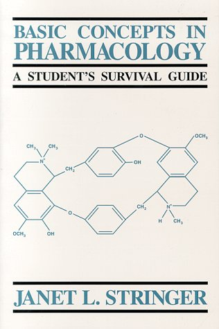 Basic Concepts in Pharmacology A Student's Survial Guide  1996 edition cover