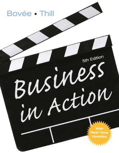 Business in Action  5th 2011 edition cover
