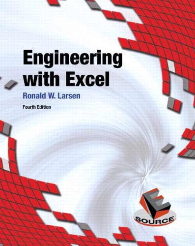 Engineering with Excel  4th 2013 (Revised) 9780132788656 Front Cover