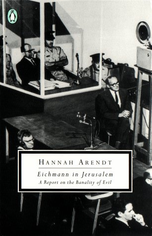 Eichmann in Jerusalem A Report on the Banality of Evil  1994 edition cover