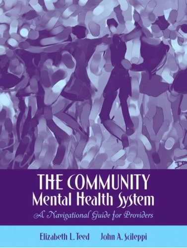 Community Mental Health System A Navigational Guide for Providers  2007 edition cover