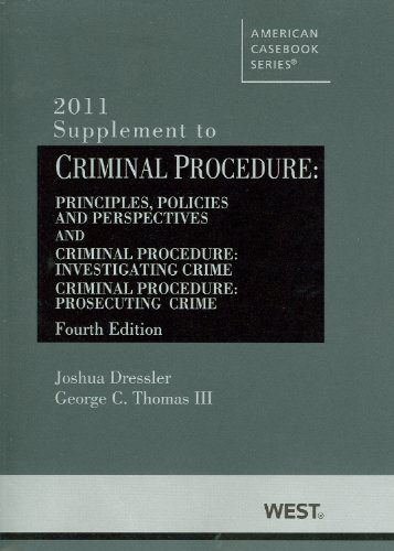 Criminal Procedure, Principles, Policies and Perspectives  4th 2011 (Revised) 9780314274656 Front Cover