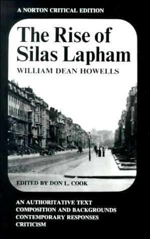Rise of Silas Lapham  N/A edition cover