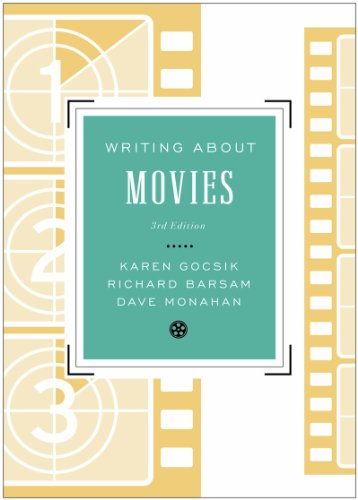 Writing about Movies  3rd 2013 edition cover