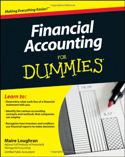 Financial Accounting for Dummies   2011 edition cover