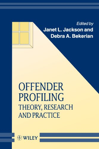 Offender Profiling Theory, Research and Practice 1st 1998 9780471975656 Front Cover