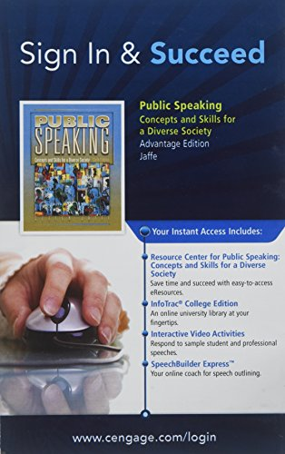 PUBLIC SPEAKING-PAC RESOURCE A N/A 9780495566656 Front Cover
