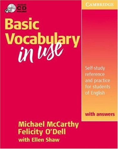 Basic Vocabulary in Use with Answers   2001 (Student Manual, Study Guide, etc.) 9780521788656 Front Cover