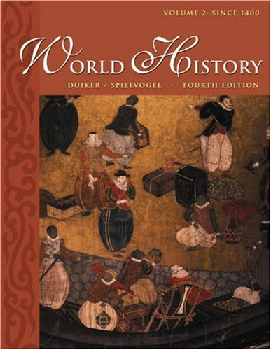 World History since 1400  4th 2004 (Revised) edition cover