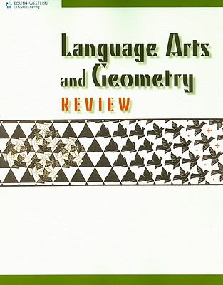 Language Arts and Geometry Review   2009 9780538449656 Front Cover