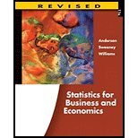 STATISTICS FOR BUS.+ECON.,REV. N/A edition cover