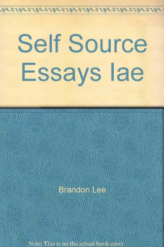 From Self to Sources Essays and Beyond  2003 9780618150656 Front Cover