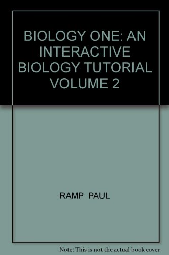 Biology One An Interactive Biology Tutorial Volume 2 Revised  9780757510656 Front Cover