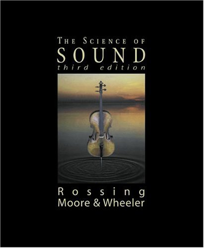 Science of Sound  3rd 2002 (Revised) 9780805385656 Front Cover