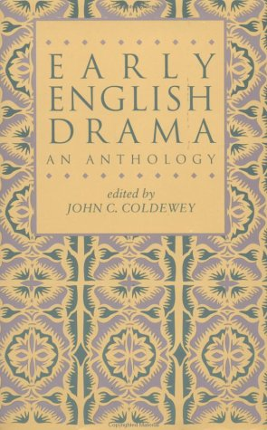 Early English Drama An Anthology  1993 edition cover