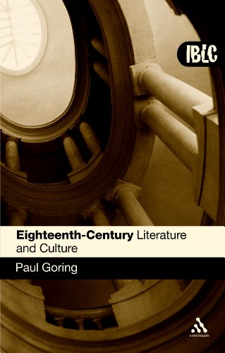 Eighteenth-Century Literature and Culture   2008 edition cover
